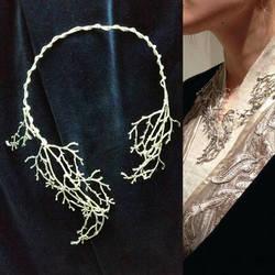 Elven Necklace/Collier Part 2 by Alydwen