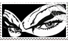 Diabolik's Eyes Stamp by caniodica
