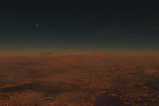 Red Worlds - Teegarden b - Flight to the dark side