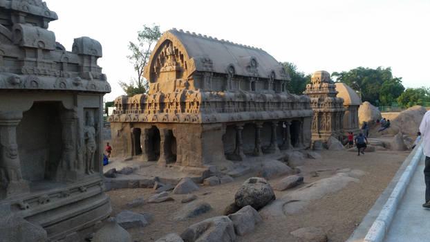 Mahabalipuram Rock carvings