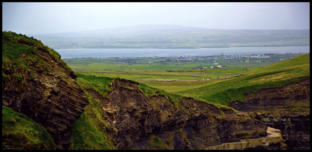 Cliffs of Moher by MJamesThompson