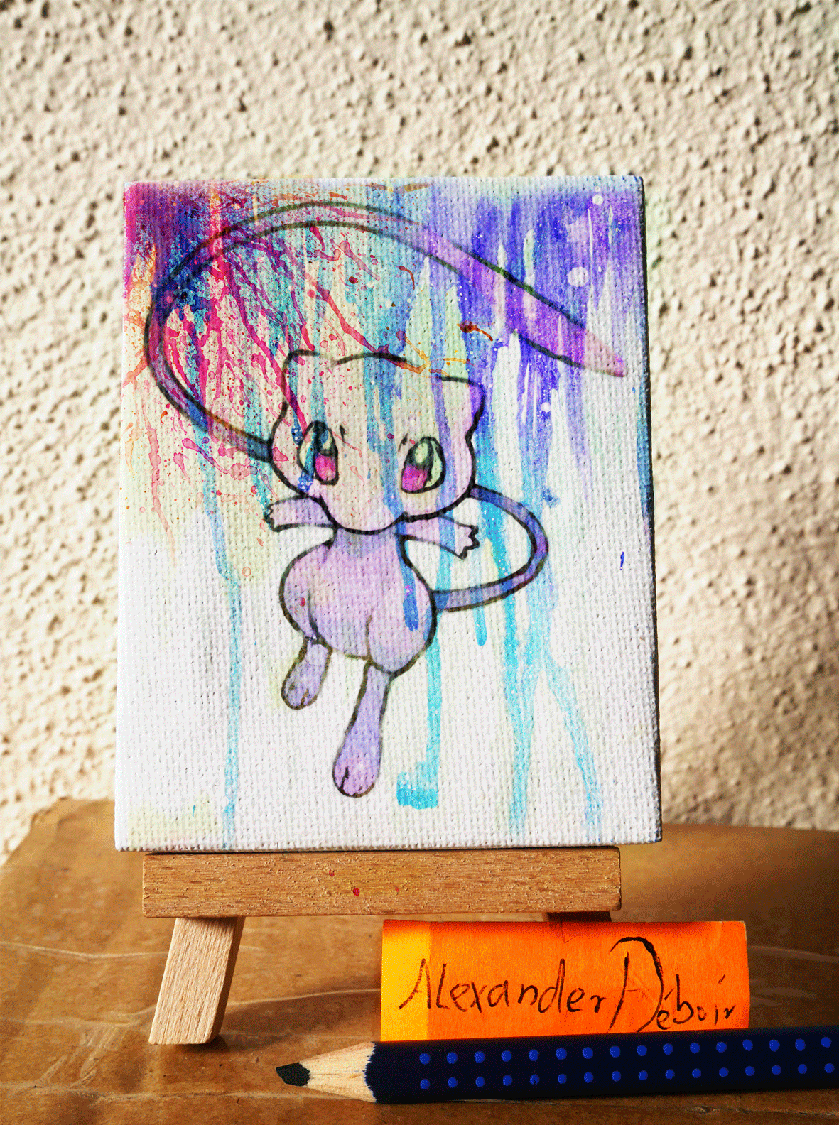 Pokemon Canvas Painting