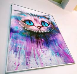 Cheshire Cat by Alexander Deboir