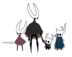Hollow Knight - Siblings by Kanriee