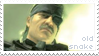 Stamp - MGS4 - Old Snake by senshuu