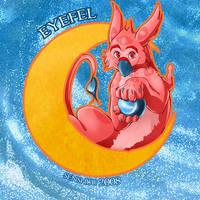 Eyefel to the Moon by senshuu