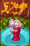 Millennium: 5 Years by senshuu