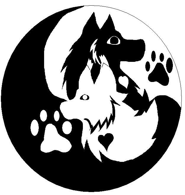 Lynx Wolf Yin Yang by ShippinaWolfOfFire on DeviantArt