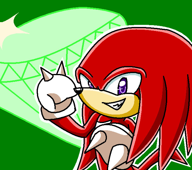 .:Knuckles The Echidna:. by xMissFabulousx