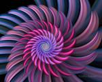 Purple color swirl