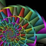 PlaneCurve traps pinwheel by Kaleidogal