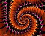 PhoenixJulia spiral by Kaleidogal