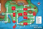 Pokemon Kanto Map HGSS