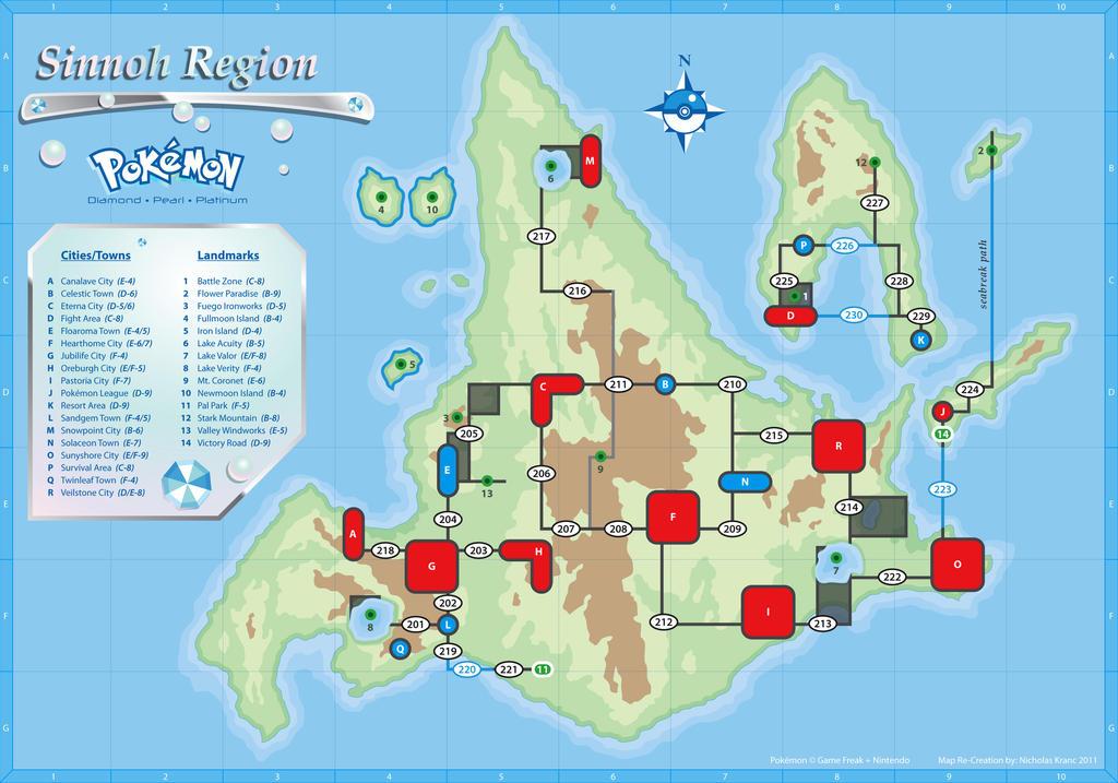 sinnoh map by cow41087 on deviantart