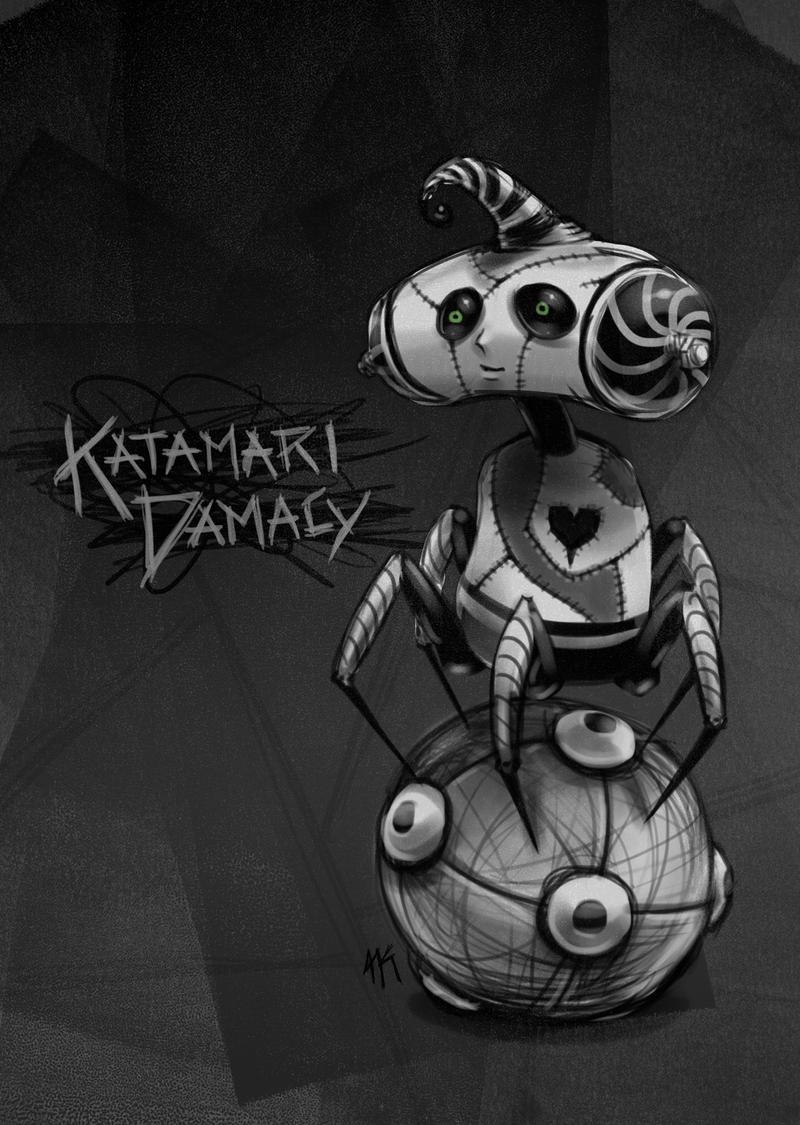 Tim Burton Katamari Prince by cow41087