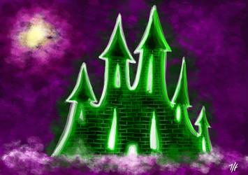 Mint flavored castle