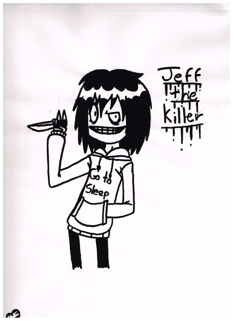 Jeff the killer by taytay128