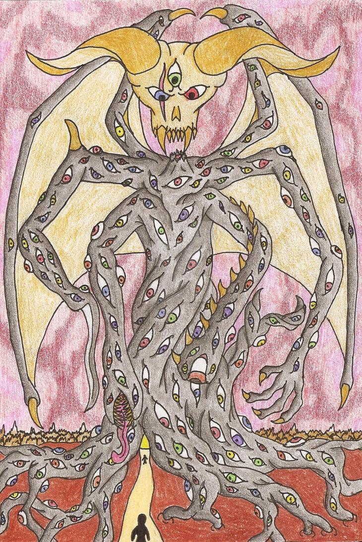 dark tree by alf999