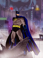 Batman by jaypiscopo