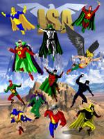 Justice Society by jaypiscopo