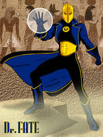 Dr. Fate re-design by jaypiscopo