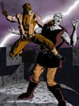 Wolverine vs. Frankenstein