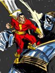 Captain Marvel vs Mr. Atom