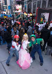 Super Mario at Times Square
