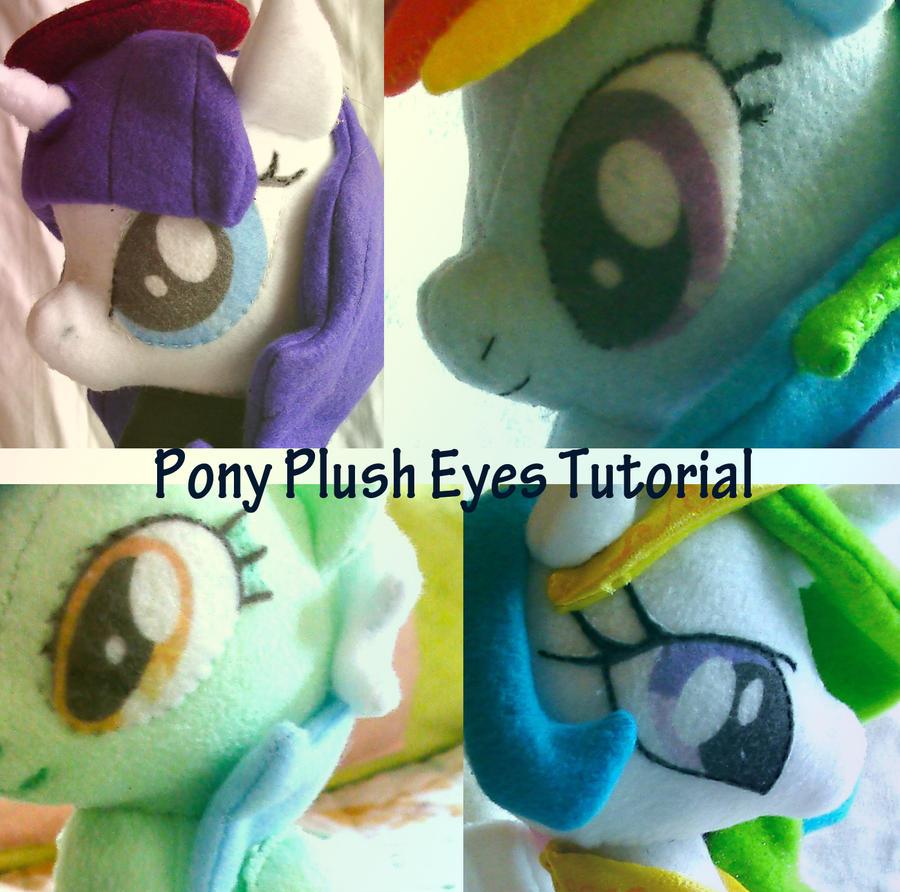 Pony Plush Eye Tutorial by dolphinwing