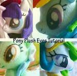 Pony Plush Eye Tutorial