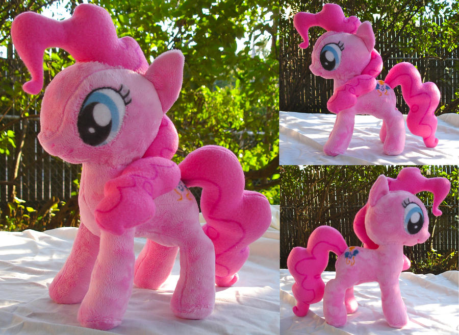 Pinkie Pie Plushie by dolphinwing