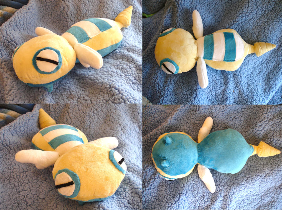 Dunsparce Plushie by dolphinwing