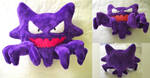 Haunter Plush by dollphinwing