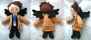 Supernatural Castiel Plush by dollphinwing