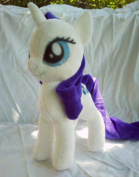 Rarity Plush by dolphinwing