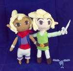 Link and Tetra Plush