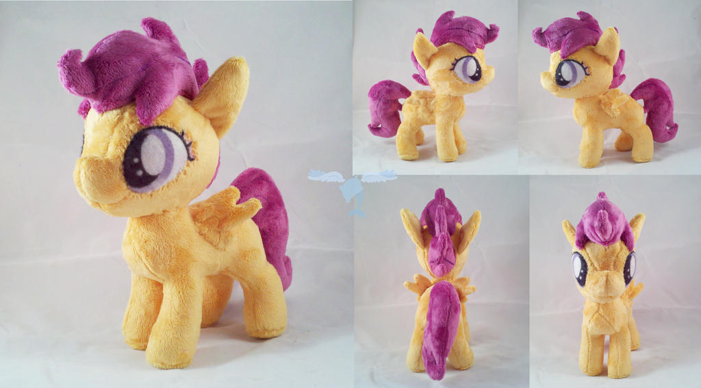 Scootaloo Plushie by dollphinwing
