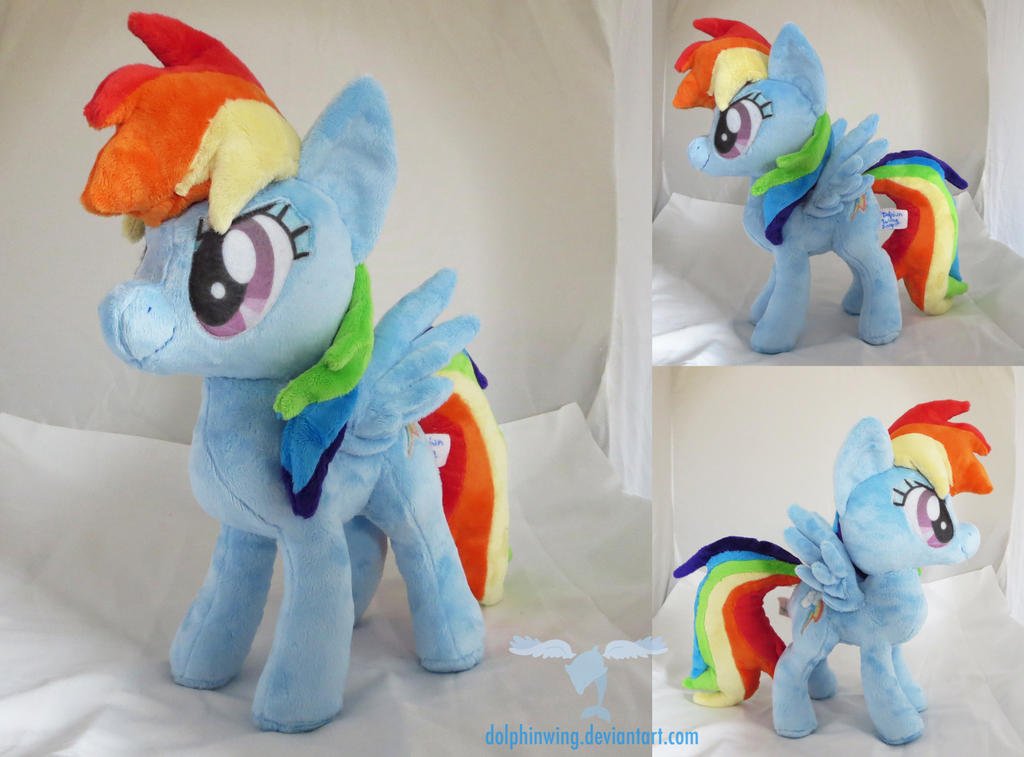 Rainbow Dash 3 by dollphinwing