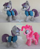 Maud and Pinkie Pie by dollphinwing