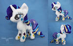 Rainbow Power Rarity plush by dollphinwing