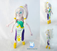 Steven Universe Opal Plush Doll by dollphinwing