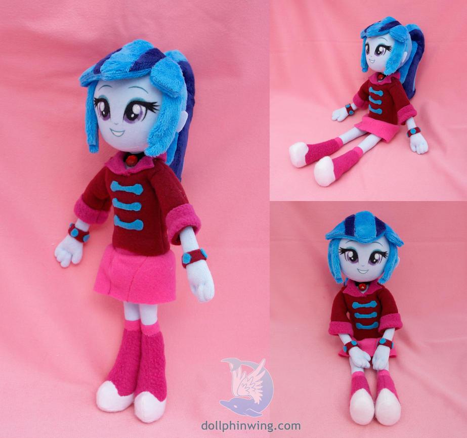 sonata dusk equestria girls plush doll by dollphinwing on
