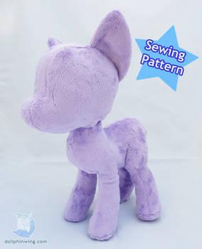 My Little Pony Plushie Sewing Pattern