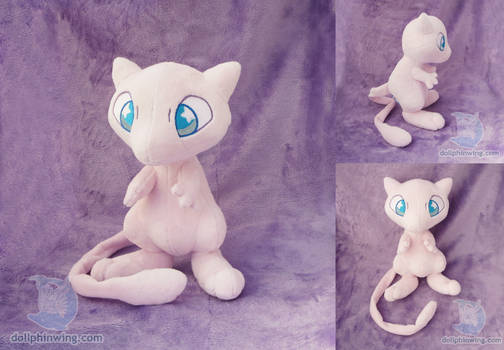 Mew Plushie (Pattern Available)