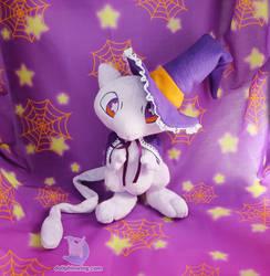 Witch Mew Halloween Pokemon Plush by dollphinwing
