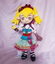 Agitha the Bug Princess Plushie by dollphinwing