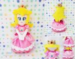 Princess Peach Plush Doll by dollphinwing