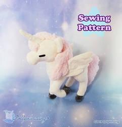 Alicorn Pegasus Plushie