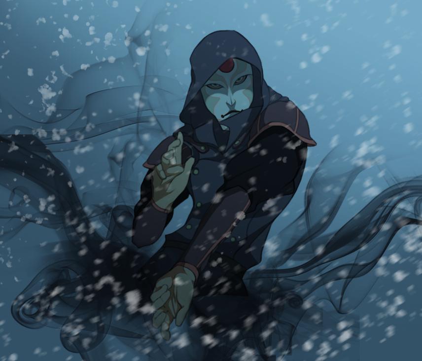 Winter Amon by TacosaurusRex