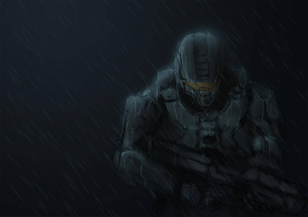 Master Chief - Home Again by TacosaurusRex